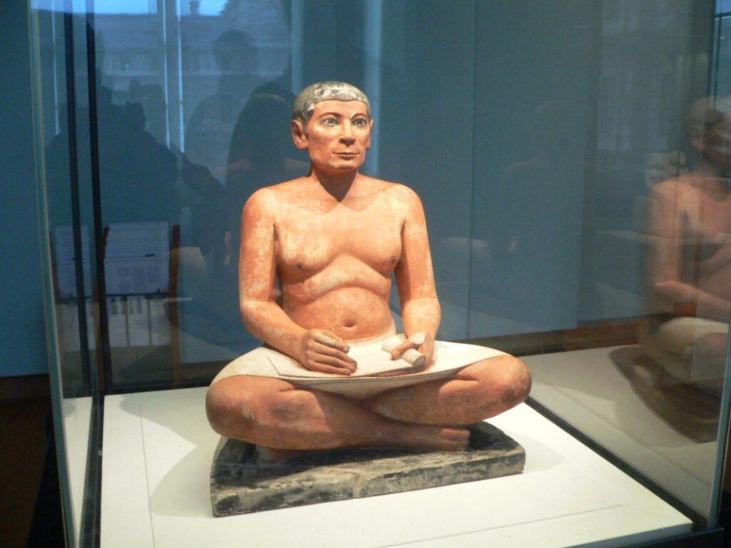 Ciekawe przykłady egipskiej rzeźby