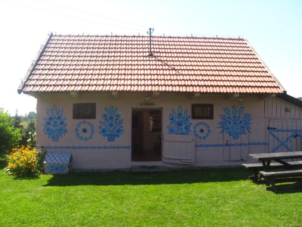 Malowane domy Zalipia