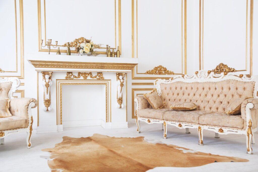 Zdobienie wnętrz w stylu barokowym